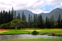 Golf course on Kauai, Hawaii